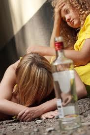 teen binge drinking problem